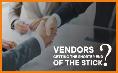 Vendors Getting The Shorter End Of The Stick?