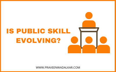 Is Public Speaking Skill Evolving?
