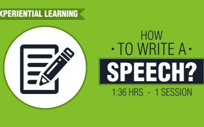 How to Write a Speech?