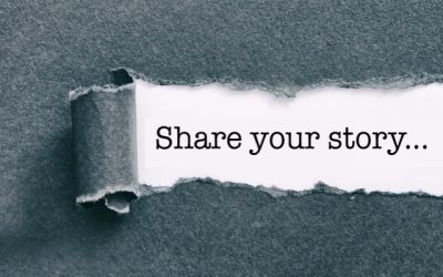 Remember to Share your Story without hesitation